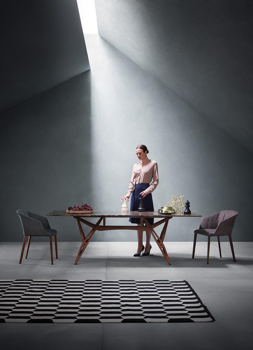 tavolo Reale piano marmo