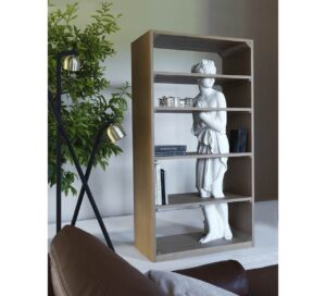 Venus la libreria scultura di Fabio Novembre per Driade